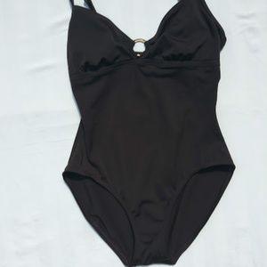 Speedo One Piece Swim Suit - Size 8 - EUC